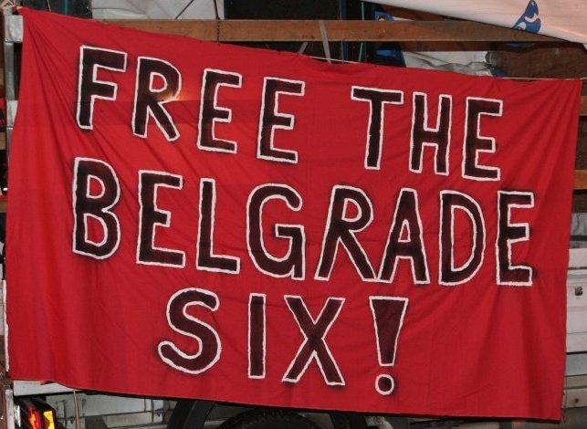 Transparent auf der Demonstration für Gewerkschaftsfreiheit in Berlin am 19. Dezember 2009 (Quelle: Oliver Wolters).