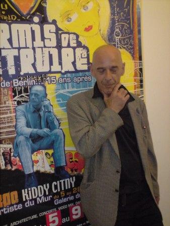 Kiddy Citny initiierte immer wieder neue Brüche in Kunst und Musik mit.