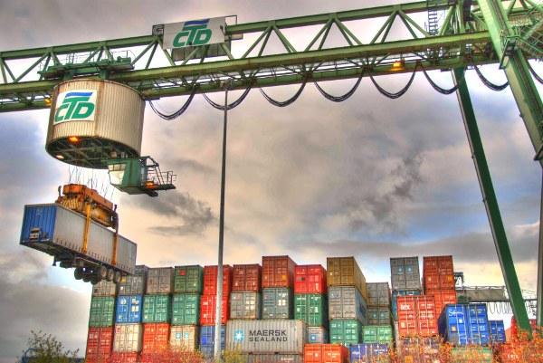 Containerterminal (Bild: Hilde Rosenkranz)