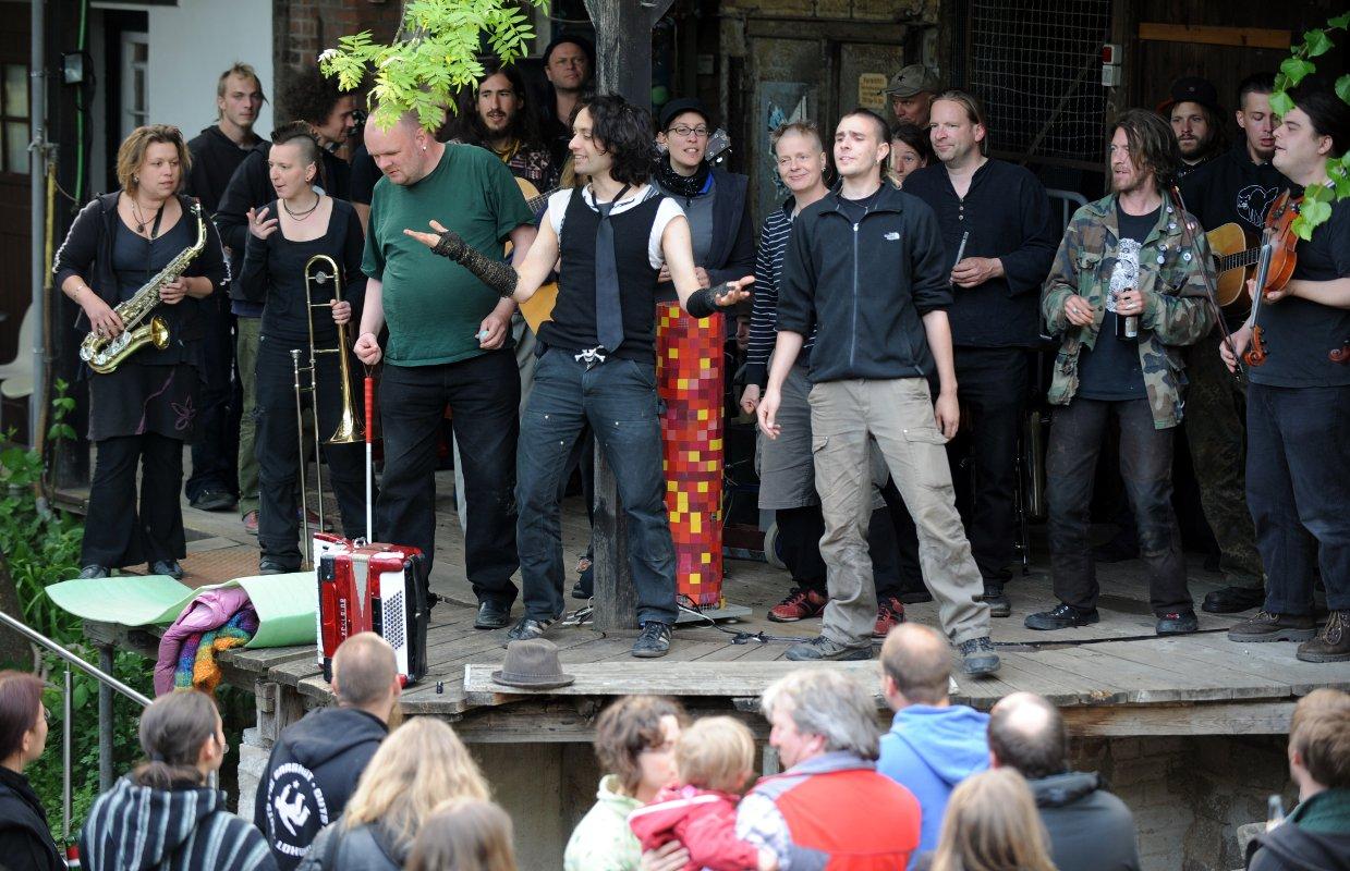 Der Gala Abend des diesjährigen Treffens in und vor der Hansa 58 in Kiel war ein unerwartet großer Erfolg