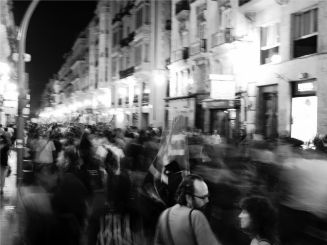 Demonstration in Valencia am 29.9. Quelle: Rafa