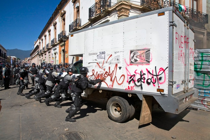 Die Wiedereinnahme Oaxacas war Schwerstarbeit für die Büttel des mexikanischen Staates