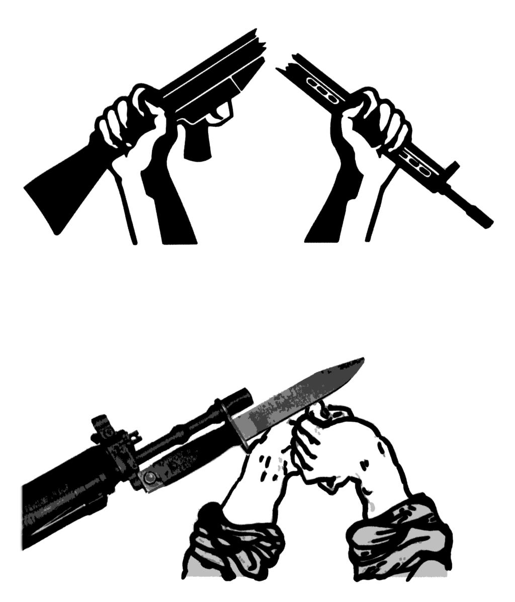 Montage: A. Eisenstein, mit dem Logo der DFG-VK