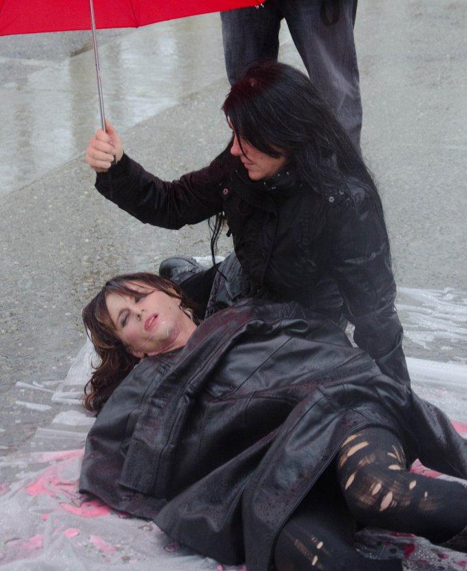 Aktion zum Internationalen Tag gegen die Gewalt gegen SexarbeiterInnen am 17. Dezember 2010 in San Francisco