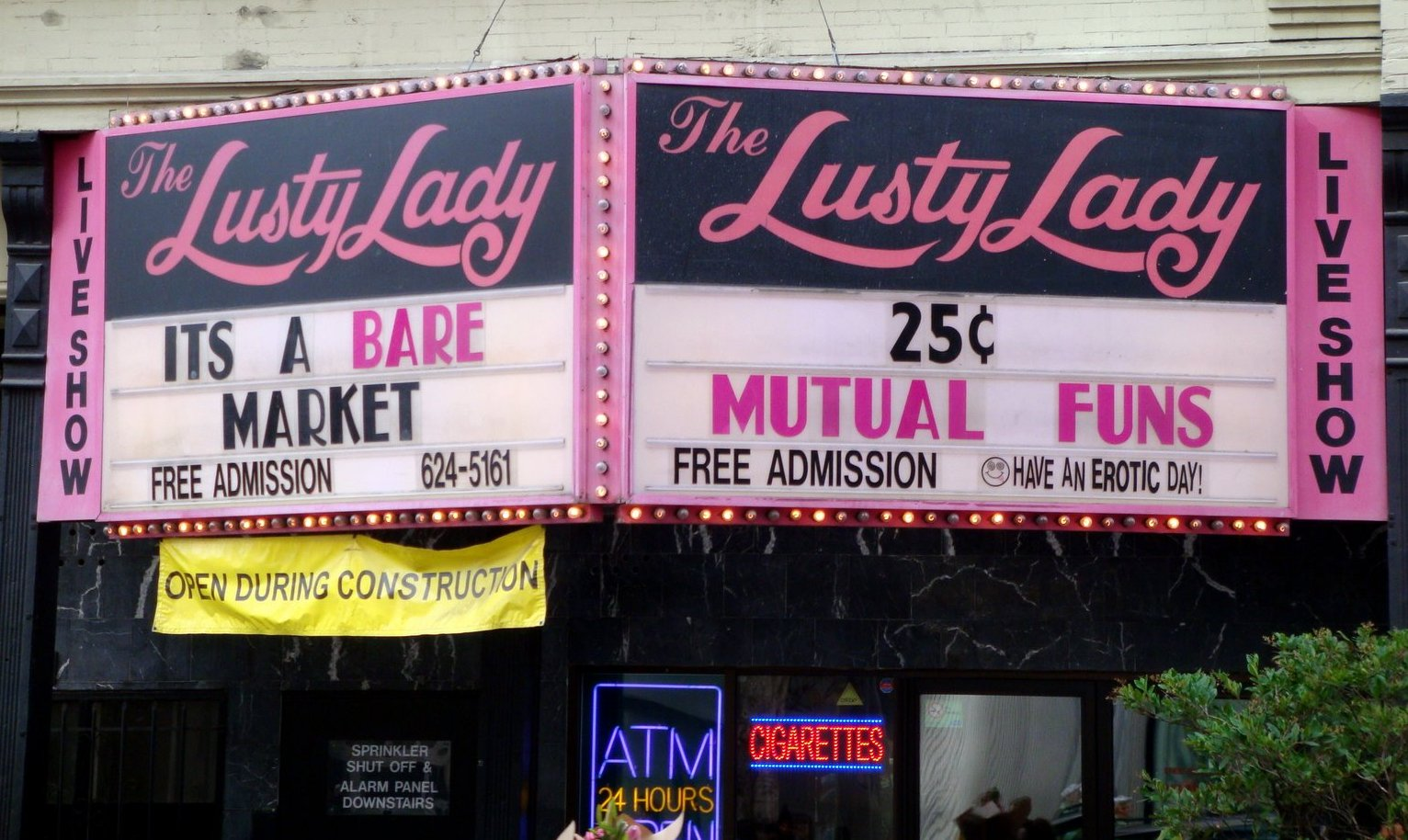 The Lusty Lady in San Francisco