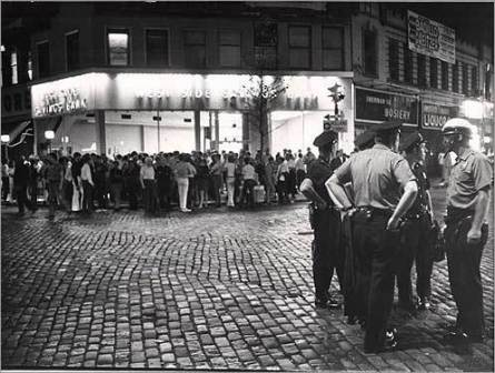 Stonewall Riots in der Christopher Street