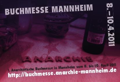 1. Anarchistische Buchmesse Mannheim