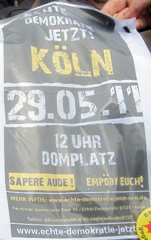 Das spanische Modell soll, wie hier in Köln, auch nach Deutschland importiert werden - bisher wenig erfolgreich.