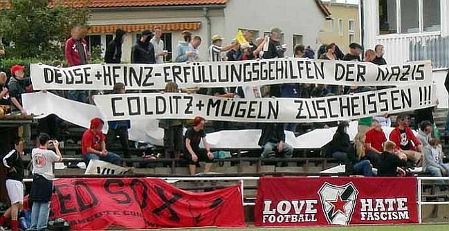 Fanblock Roter Stern Leipzig (Quelle: www.roter-stern-leipzig.de)