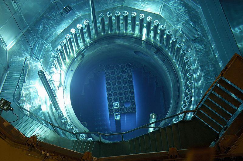 Reaktorkern des Kernkraftwerks Gösgen (Quelle: Kernkraftwerk Gösgen-Däniken AG)