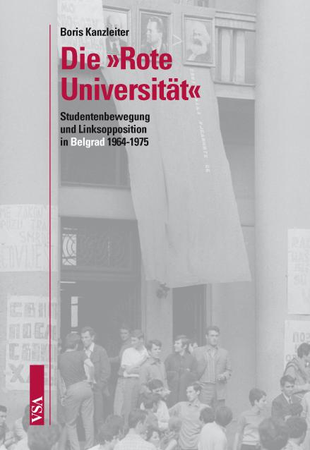 """Buchcover: Die """"Rote Universität"""" (Bild: VSA Verlag)"""