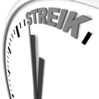 Zeit zu streiken?