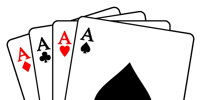 Wer spielt die Asse? (Quelle: Wikimedia User Tomchen1989 CC-BY-SA)