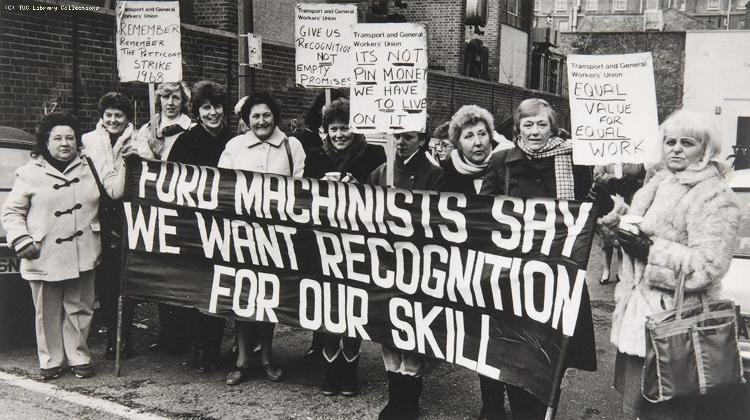 Näherinnen-Streik bei Ford Dagenham, 1984