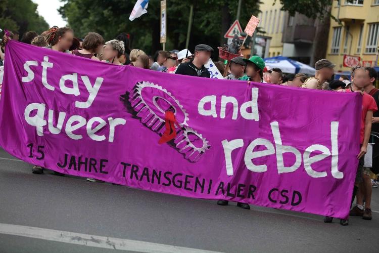 Teilnehmende am diesjährigen transgenialen CSD - Bildquelle: PM Cheung