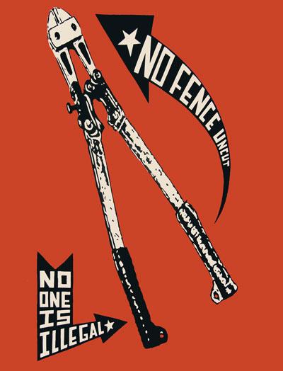 """No Fence uncut"" by Josh McPhee (Copyright: Josh McPhee)"