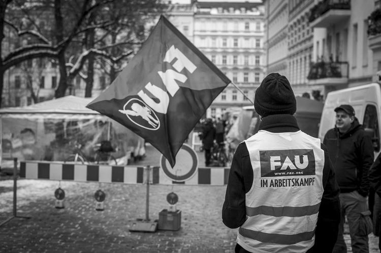 FAU Berlin im Arbeitskampf
