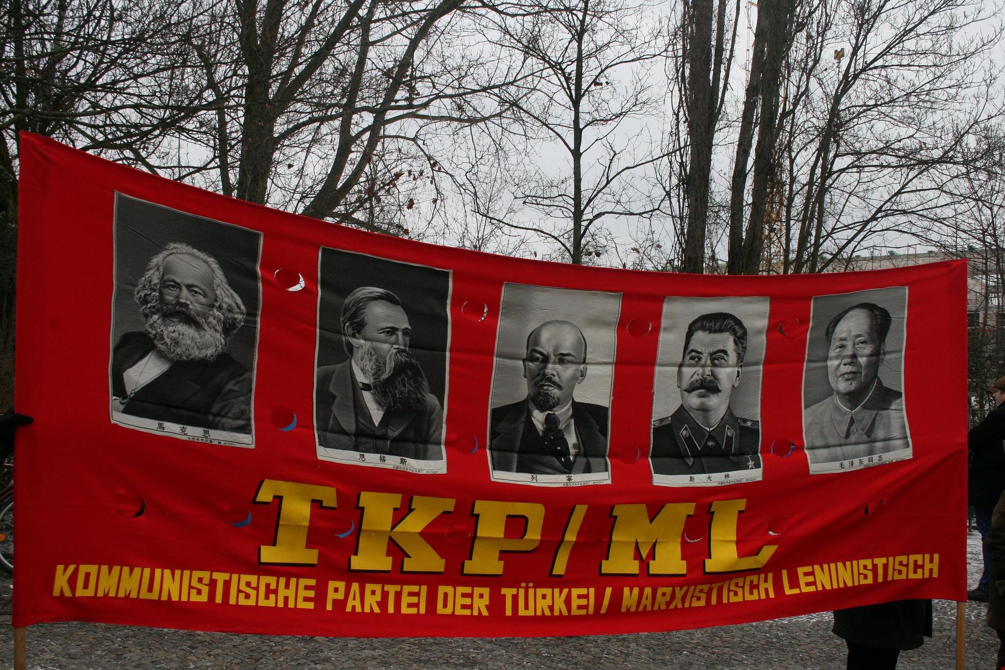 Der Stalin des Anstoßes. Bild: dielinkebw