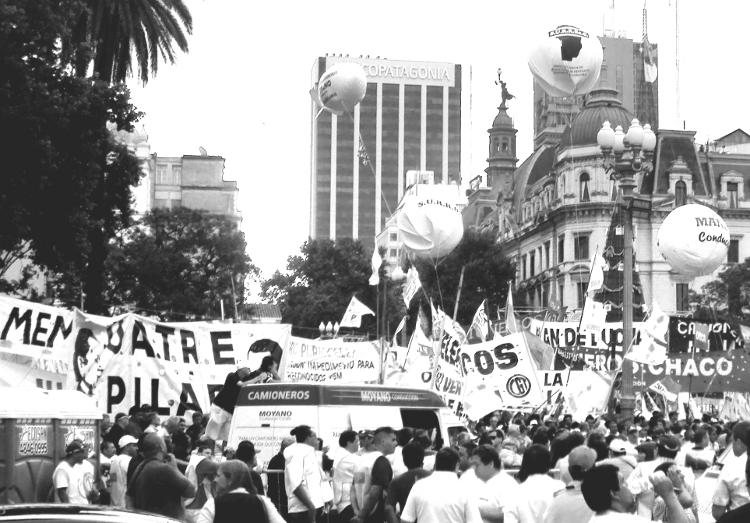 Dominant: Die peronistischen Gewerkschaften in Argentinien. (Quelle: Robert Ortmann)