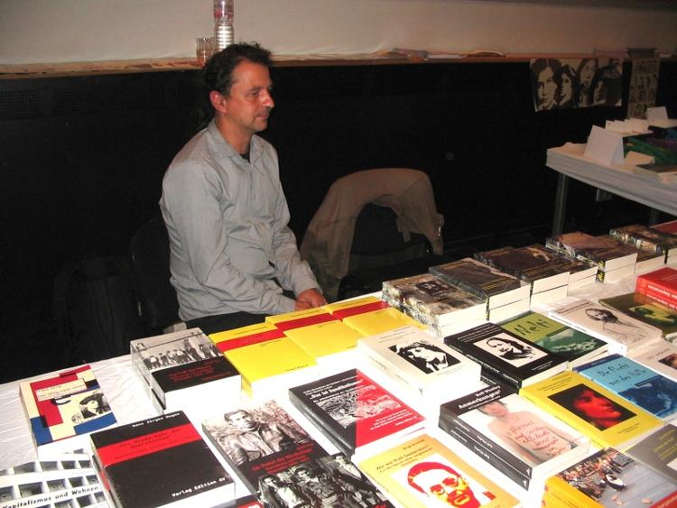 Andreas Hohmann auf der LiMesse 2012 (CC0 1.0 Reclus)