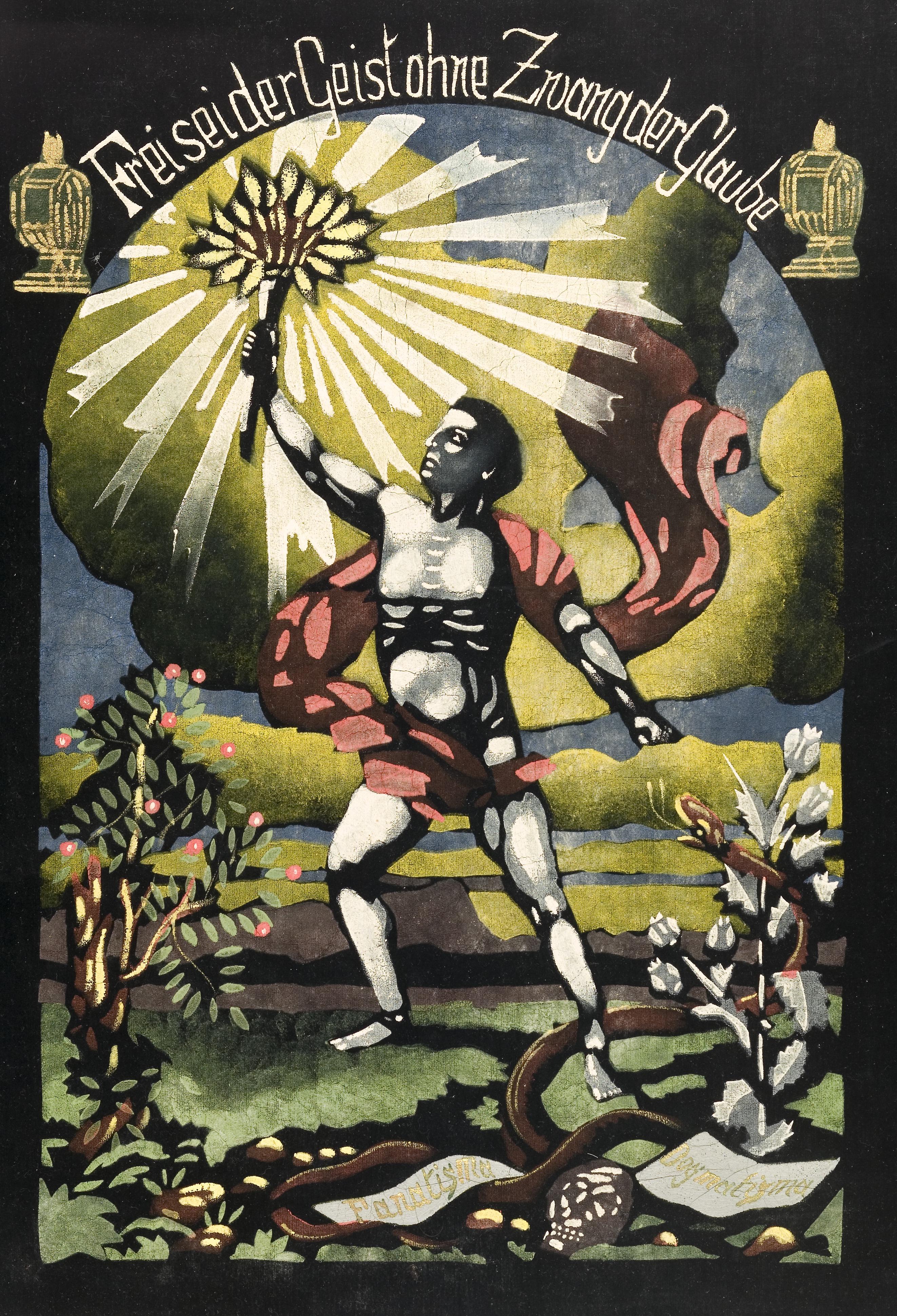 Gemälde der Freireligiösen Gemeinden, ca. 1890er Jahre (Johannes-Ronge-Haus, Ludwigshafen)