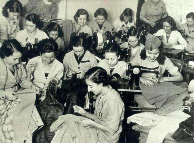 Ein Textilkollektiv während der spanischen Revolution 1936-1939