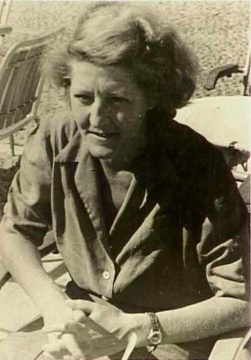 Die Anarchistin und Spanienkämpferin Clara Thalmann (Bild vom IISG)