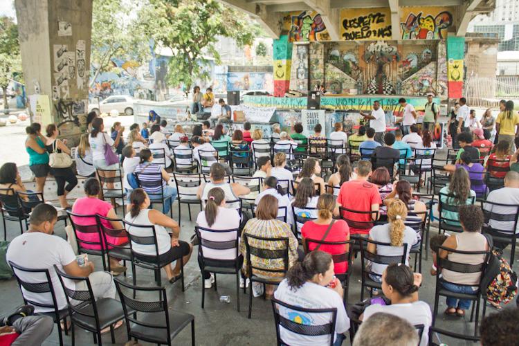 Eine Konferenz in Belo Horizonte zur öffentlichen Politikgestaltung (Foto: Midianinja)