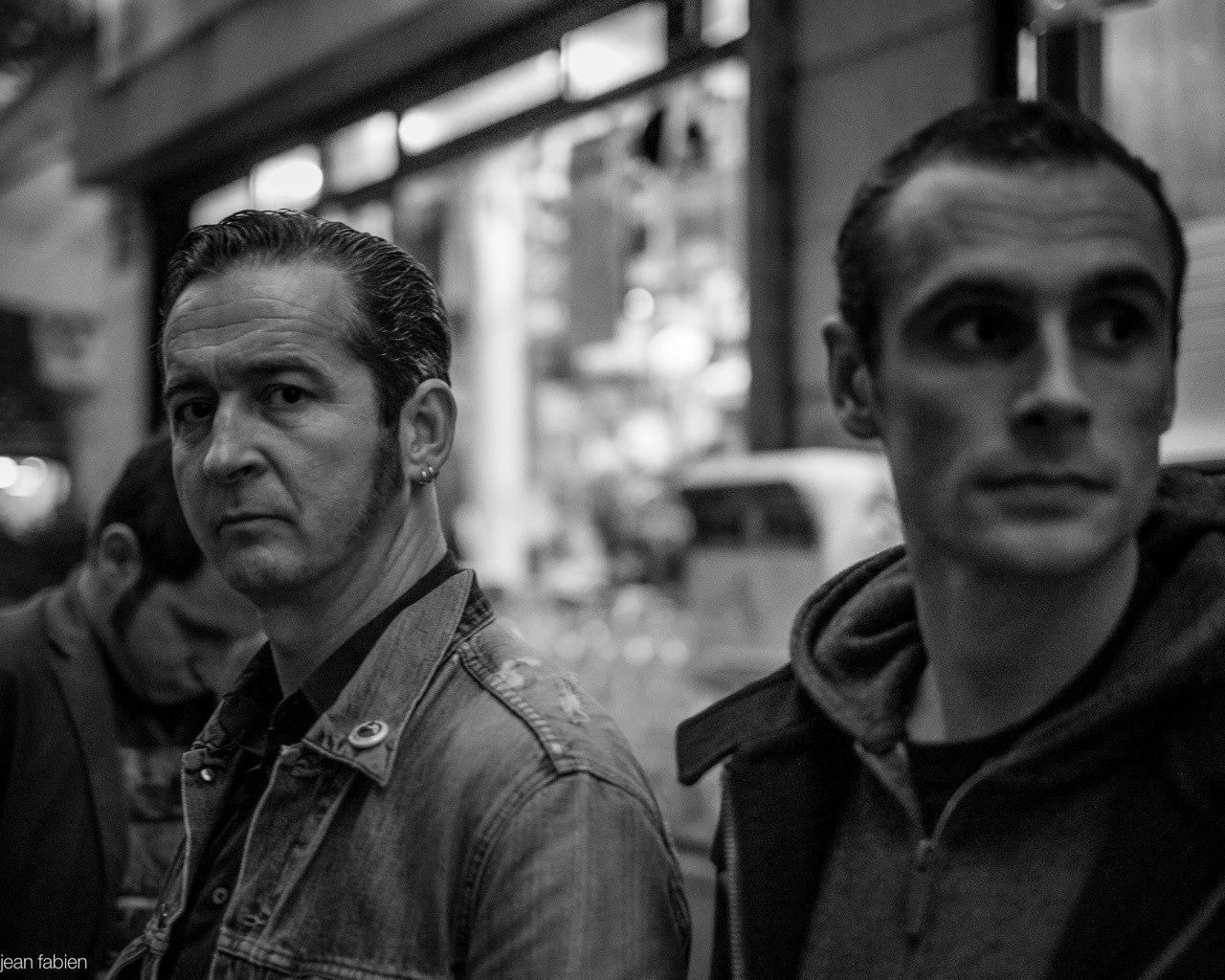 Fred Alpi (vorne), links hinten Chris Gianorsi und rechts Tom Decaestecker. (Foto: Jean Fabien)