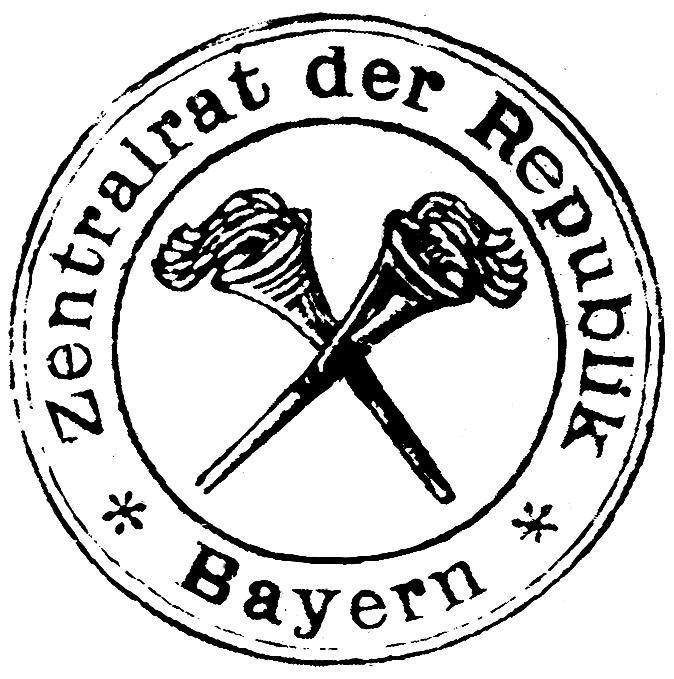 Stempel des Zentralrates der Republik Bayern