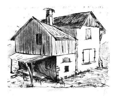 Holzschnitt und Radierung von Ralf Hentrich zu erwerben im Online-Hüttenladen