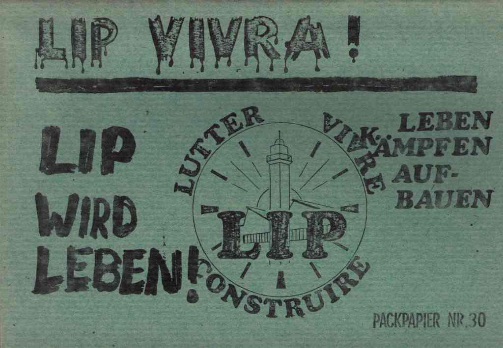 Veröffentlichung des Packpapierverlag Osnabrück zu LIP