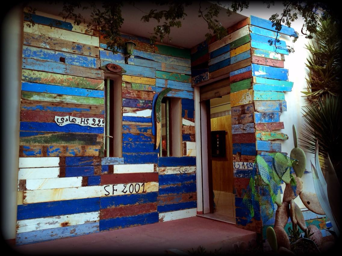 Kunstraum Porto M auf Lampedusa