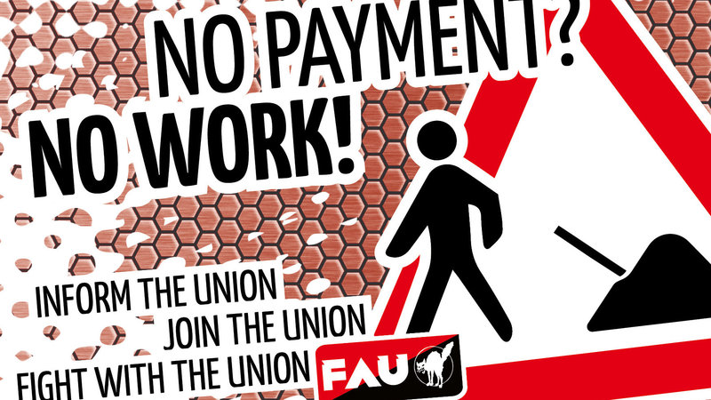 No Payment? No Work!