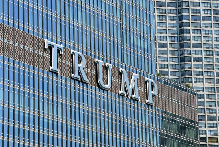 Trump Tower in Chicago