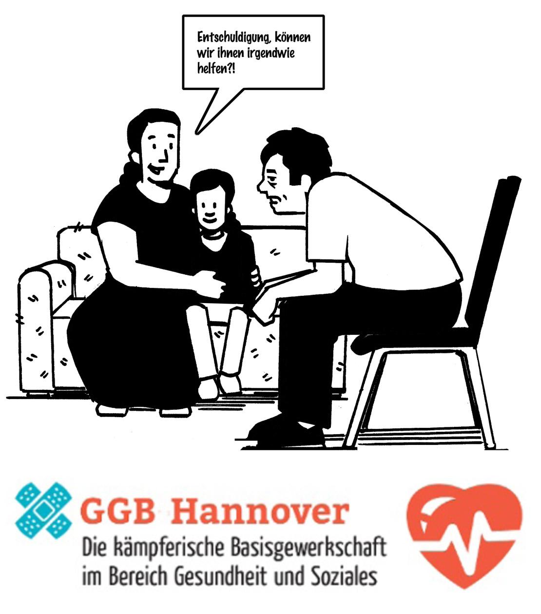 Flugblatt der GGB