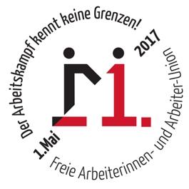 FAU ruft zum 1. Mai 2017 auf