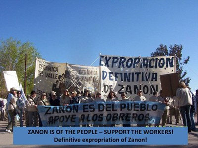 Demo: Zanon is of the People