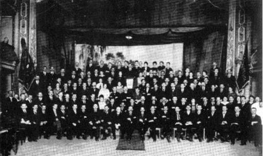 Delegierte auf dem FAUD Kongress 1922