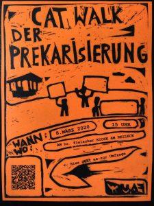 Flyer der AG Feministisch Organisieren der FAU Halle (Saale)