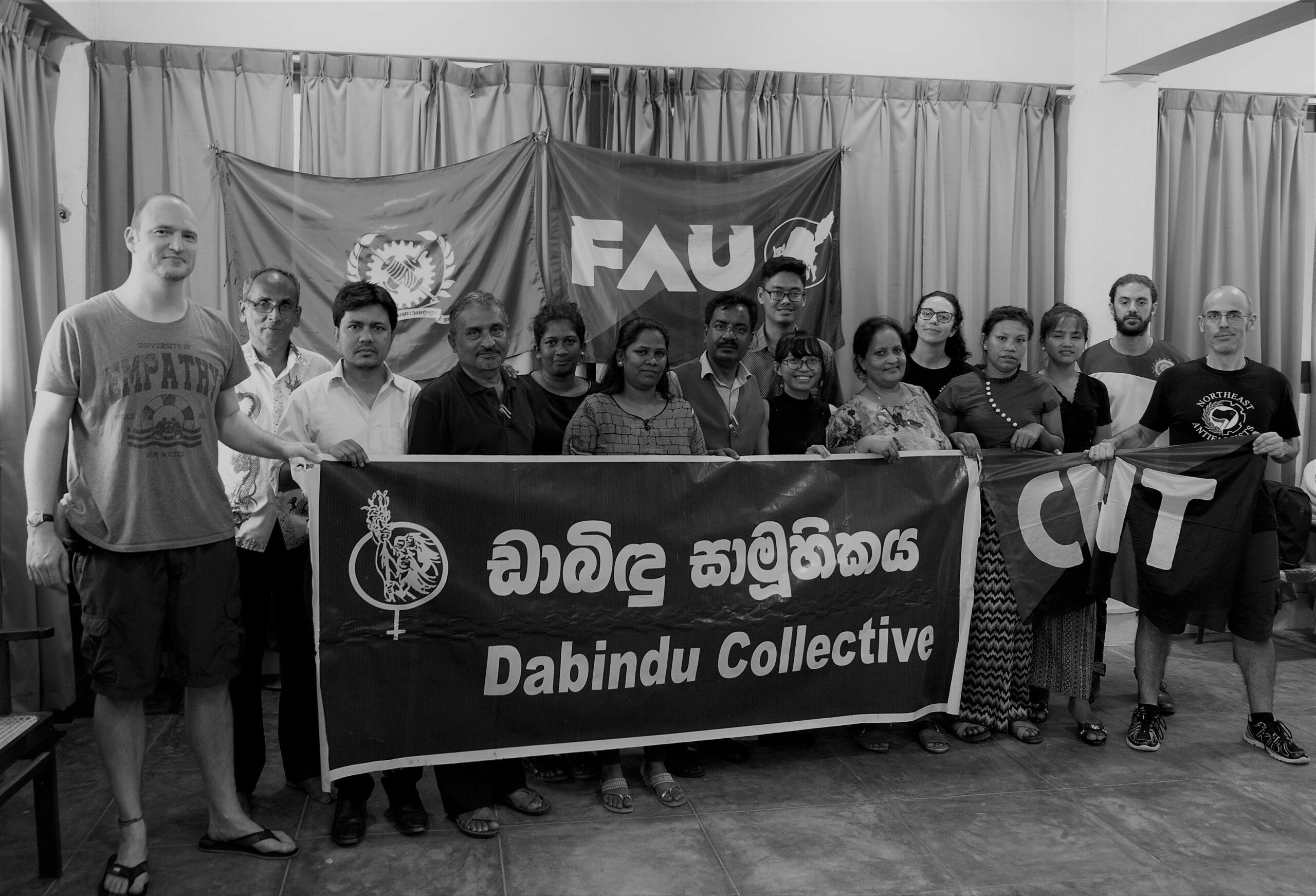 Konferenz von zu meist südostasiatischen Basisgewerkschaften